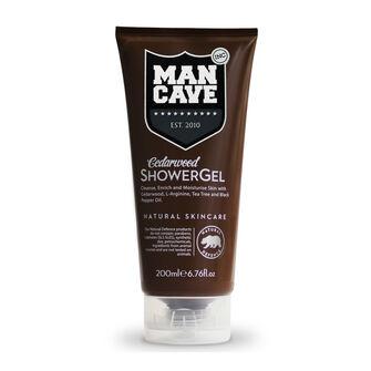 ManCave Cedarwood Shower Gel 200ml, , large