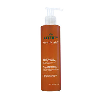 NUXE Reve de Miel Facial Cleansing and Make-Up Removing Gel, , large