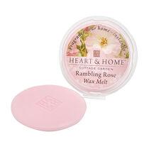 Heart & Home Wax Melt Rambling Rose 27g, , large