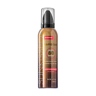 Sunkissed Rapid 60 Minute Tan Mousse 150ml, , large
