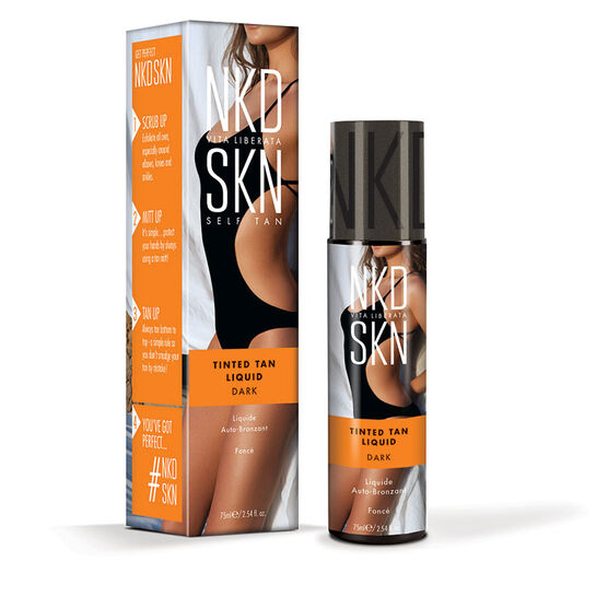 NKD SKN Tinted Tan Liquid Dark 75ml, , large