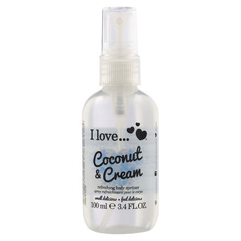 I Love Coconut and Cream Body Spritzer 100ml, , large