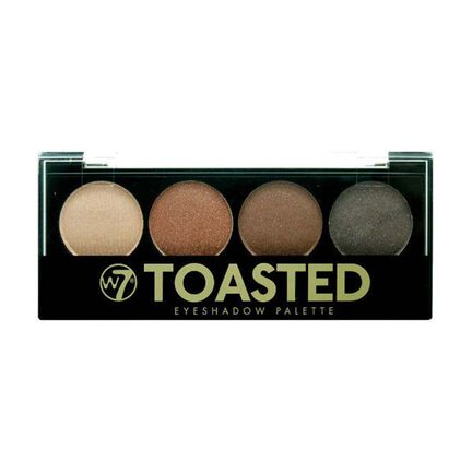 W7 Toasted Eyeshadow Palette, , large