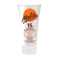 Malibu Miracle Tan SPF15 150ml, , large