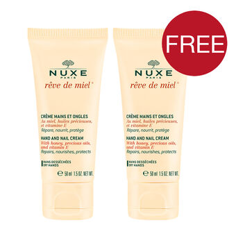 Nuxe Reve de Miel Hand And Nail Cream 50ml With Gift, , large