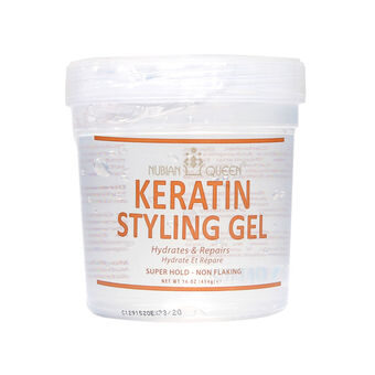 NUBIAN QUEEN Keratin Styling Gel 454g, , large