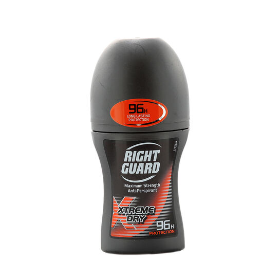Right Guard Xtreme Dry 96H Roll On 50ml, , large