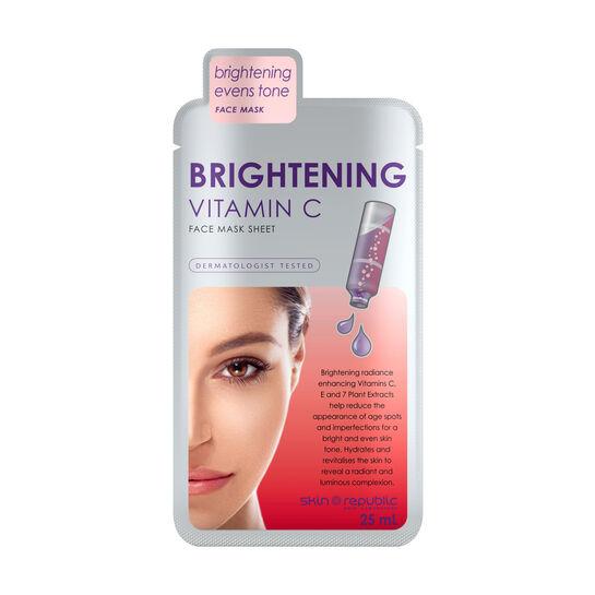 Skin Republic Brightening Vitamin C Face Mask 25ml, , large