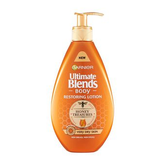 Garnier Ultimate Blends Restoring Honey Body Lotion 250ml, , large