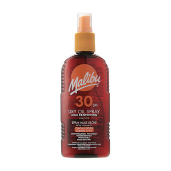 Malibu Sun Dry Oil Spray SPF30 200ml, , large