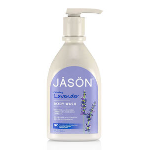 Jason Calming Lavender Body Wash With Pump 887ml, , large