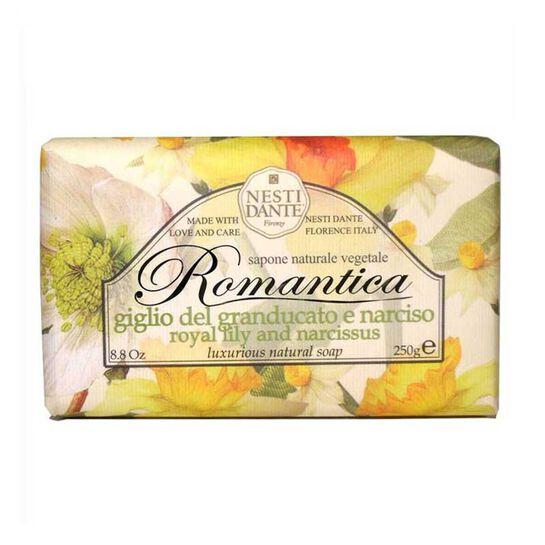 Nesti Dante Romantica Royal Lily & Narcissus Soap 250g, , large