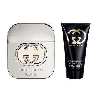 Gucci Guilty Platinum Eau De Toilette Spray 50ml + Free Gift, , large