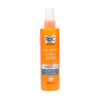 RoC Soleil Protect Moisturising Spray Lotion SPF50 200ml, , large