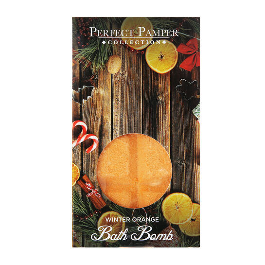 Perfect Pamper Collection Spiced Orange Fizz Bar, , large