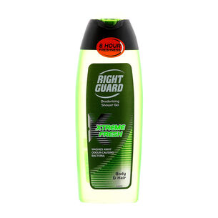 Right Guard Xtreme Fresh Hair & Body Shower Gel 250ml, , large