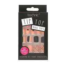 Technic Tip Top Nail Tips Art Deco, , large