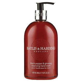 Baylis & Harding Black Pepper & Ginseng Hand Wash 500ml, , large