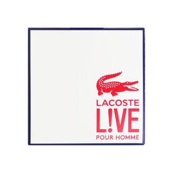 Lacoste Lacoste Live Male Eau De Toilette & Shower Gel Gift, , large