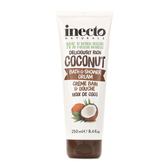 Inecto Naturals Coconut Bath & Shower Cream 250ml, , large