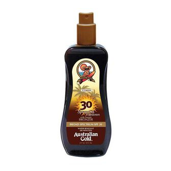 Australian Gold Spray Gel with Bronzer SPF30+ 237ml, , large