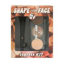 W7 Shape Your Face Contour Kit, , large
