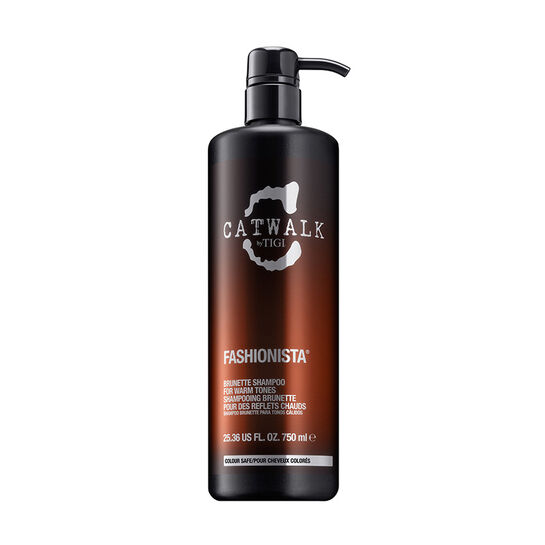 Tigi Catwalk Fashionista Brunette Shampoo 750ml, , large