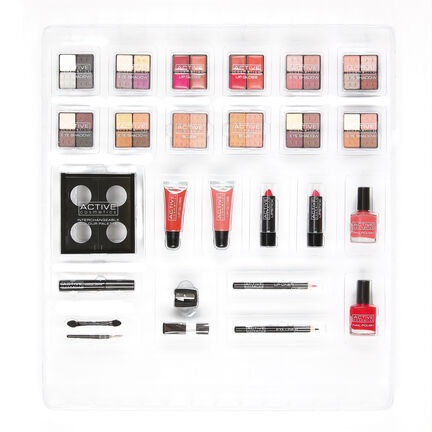 Active Cosmetics Makeup Gift Set, , large