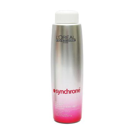 L'Oréal Synchrone Wave Lotion Coloured Hair 400ml, , large
