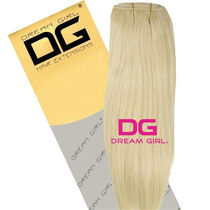 DREAM GIRL Euro Weave Hair Extensions 18 Inch 613, , large