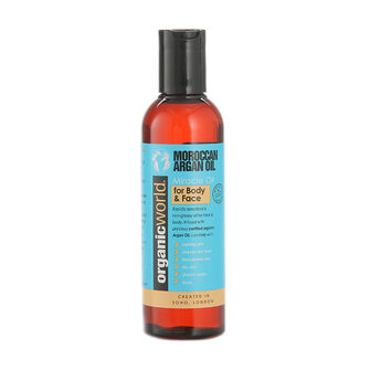 Natural World Moroccan Argan Oil Miracle Face & Body 200ml, , large