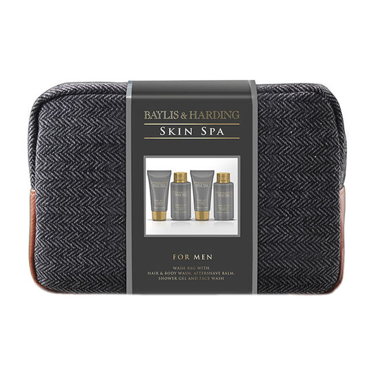 Baylis & Harding Amber and Sandlewood Wash Bag, , large
