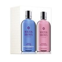 Molton Brown Wild Indigo &  Davana Blossom Gift Set 2x300ml, , large