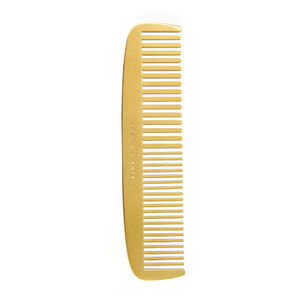 Men's Society Fine & Dandy Brass Plated Comb, , large