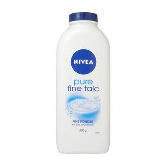 Nivea Pure Fine Talc Powder 300g, , large