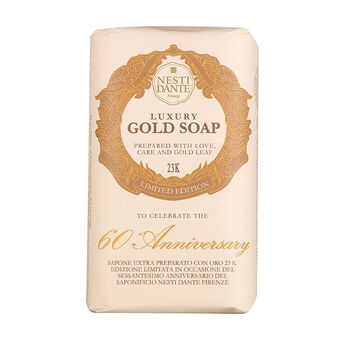 Nesti Dante 60th Anniversary Luxury Gold Soap 250g, , large