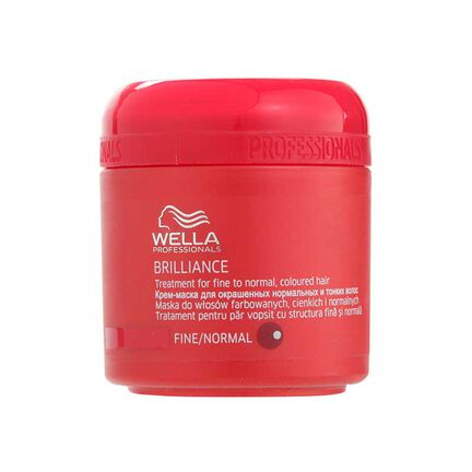 Wella Brilliance Treatment for Fine Normal Hair 150ml, , large