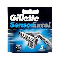 Gillette Sensor Excel Razor Blades Pack Of 5, , large