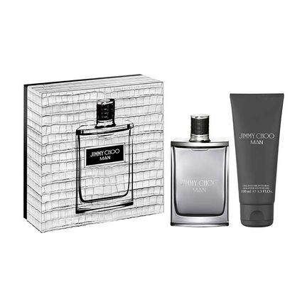 Jimmy Choo Man Gift Set EDT 50ml & Shower Gel, , large