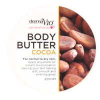 DermaV10 Body Butter Cocoa 220ml, , large