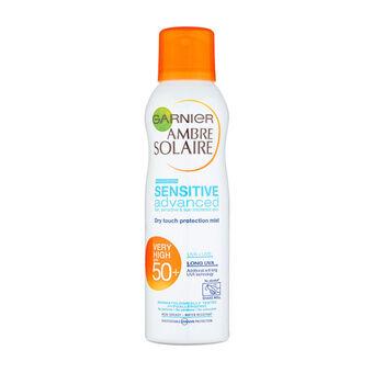 Garnier Ambre Solaire Mist Spray Sensitive Advanced SPF50+, , large