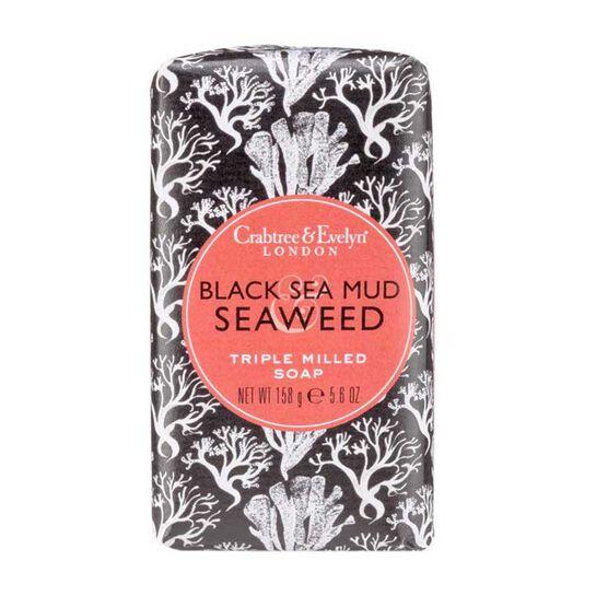 Crabtree & Evelyn Heritage Soaps Black Seamud & Seaweed 158g, , large
