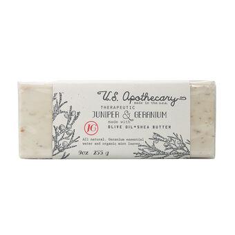 USA Apothecary Bar Soap Juniper & Geranium 255g, , large
