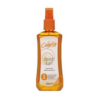 Calypso Deep Tan Carrot Oil Spray SPF 2  250ml, , large