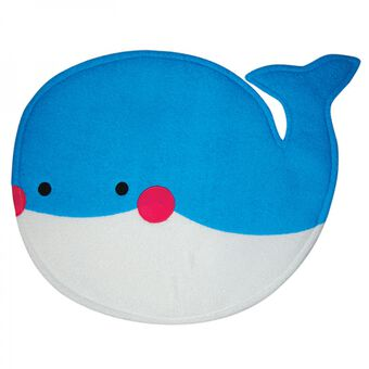 Bath Time Adventures Whale Towelling Bath Mat, , large
