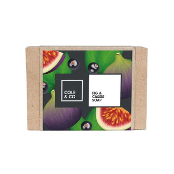 Cole & Co Fig and Cassis Soap 80g, , large