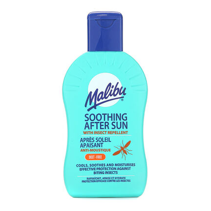 Malibu After Sun Cream With Insect Repellent 200ml, , large