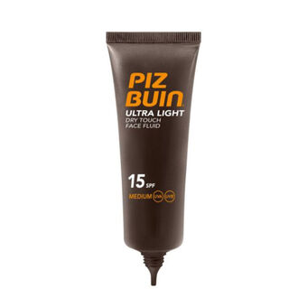 Piz Buin Ultra Light Face Fluid SPF15 50ml, , large