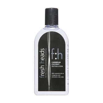 Fresh Heads Friction Lotion Coconut 250ml, , large