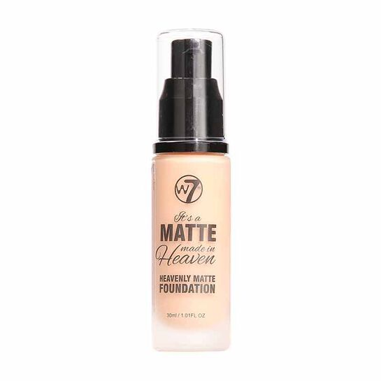 W7 Matte Made in Heaven Foundation 30ml, , large